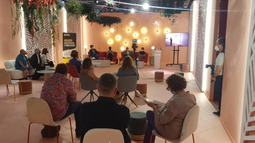 Aragón reivindica su talento artístico en Arco