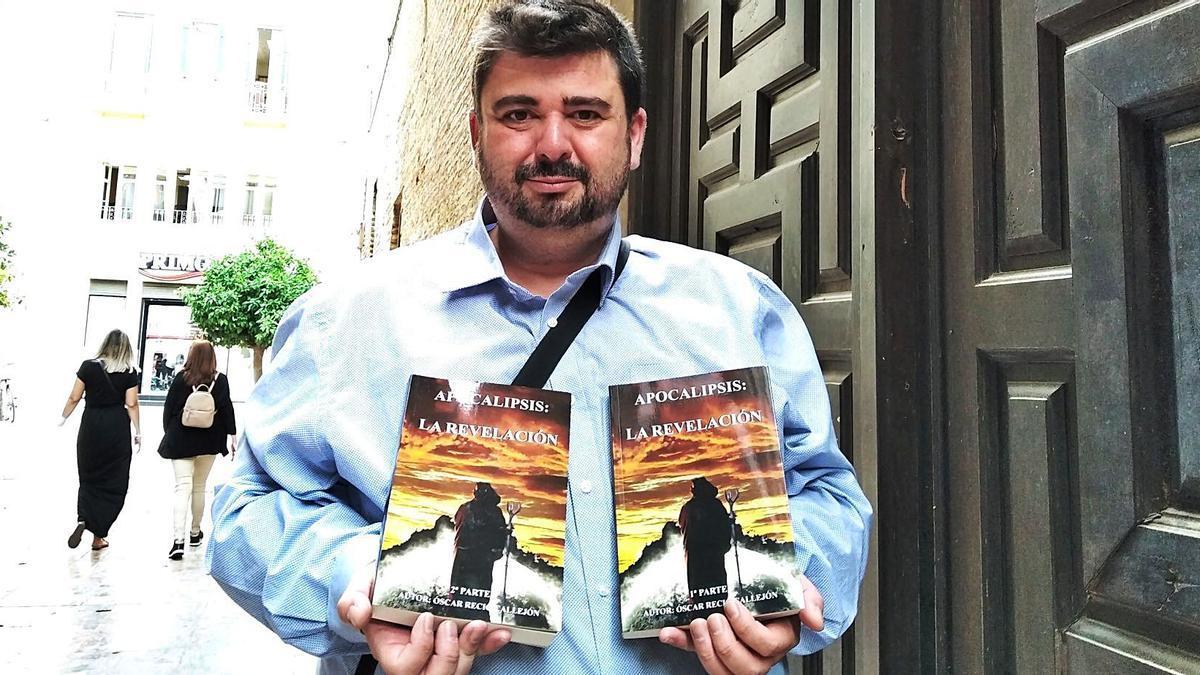 Óscar Recio, esta semana en Málaga con el final de su trilogía, repartida en dos tomos