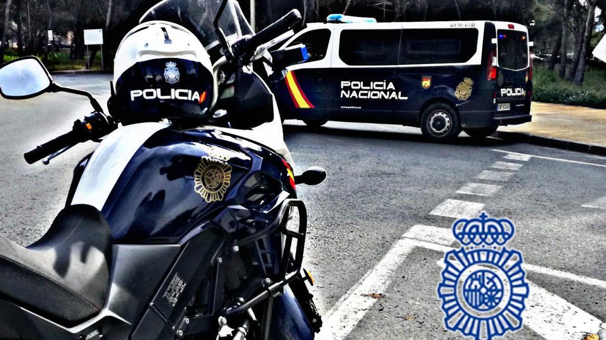 La Policía Nacional actúa contra el trafico de drogas