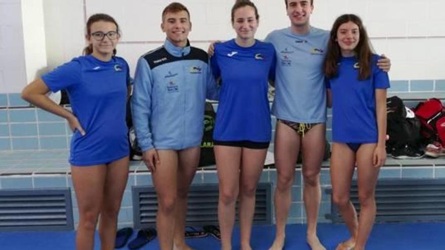 El Natació Xàtiva inicia la temporada subiendo al podio en Bétera