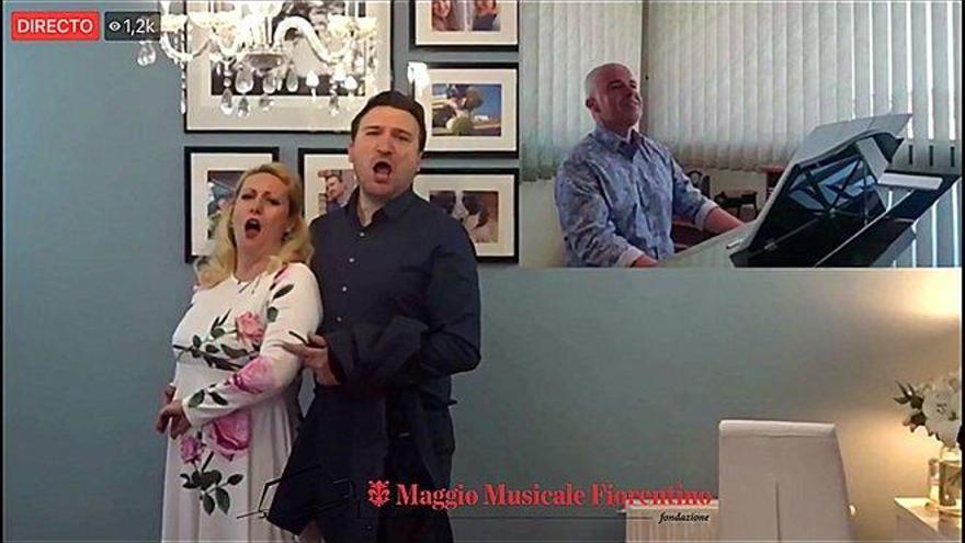 El Maggio Musicale de Florencia regaló una gala lírica por internet