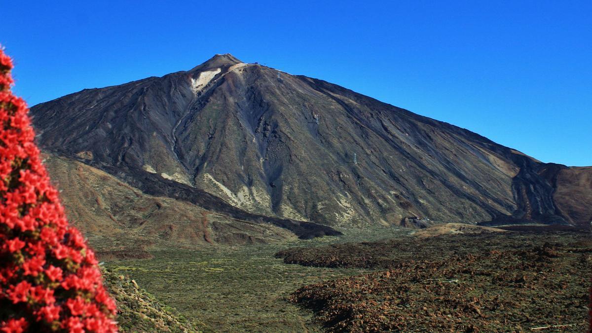 Vista parcial del Parque Nacional de las Cañadas del Teide, en Tenerife. ED