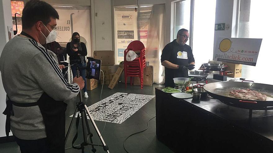 Curso on line para hacer una paella desde Argentina