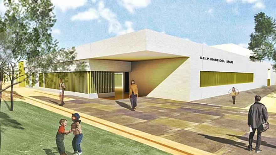La Junta ampliará el colegio Isdabe del Mar de Estepona