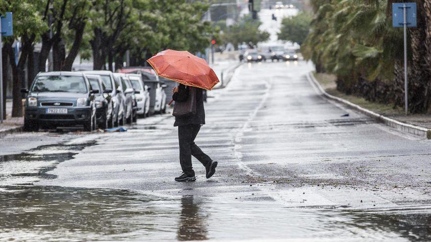 La semana arranca con lluvia a partir de mediodía en Baleares