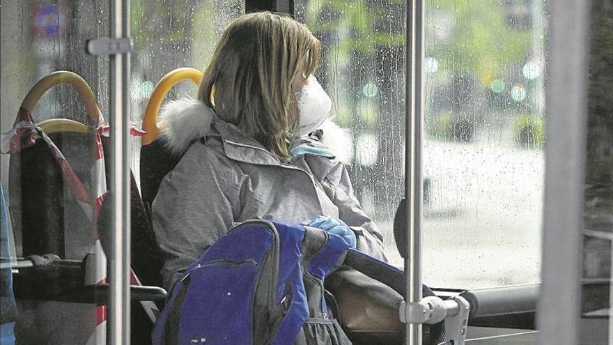 El uso de mascarillas será obligatorio en el transporte público desde el 4 de mayo