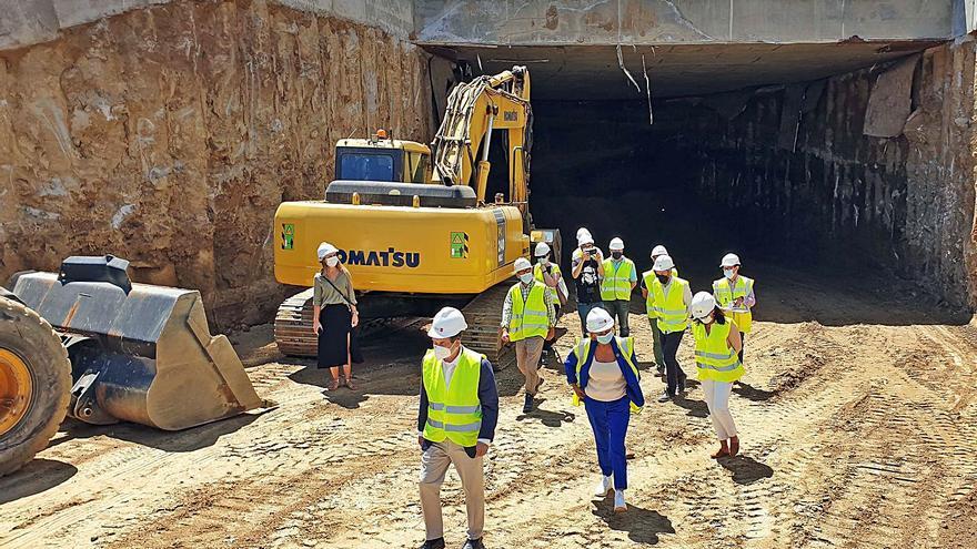 """Caballero, sobre el túnel de Vialia: """"Trataremos de adelantar los plazos"""""""