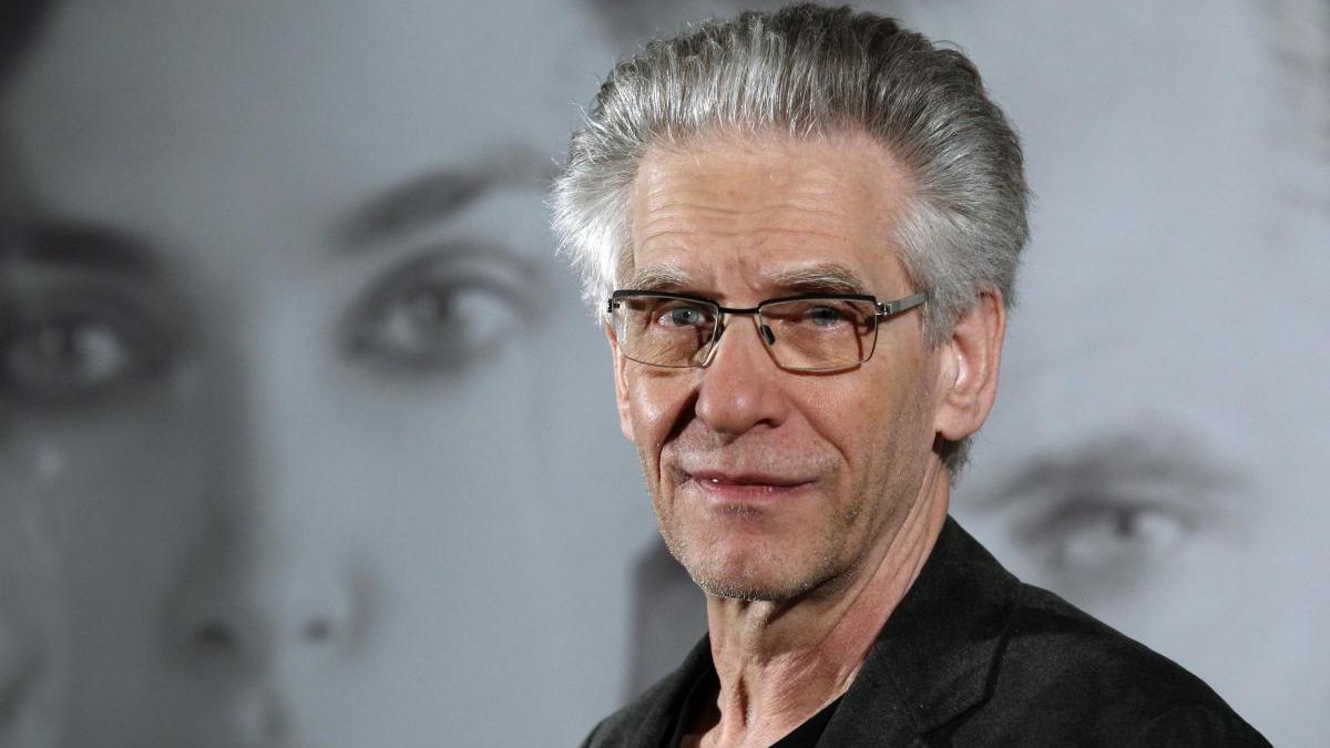 El director de cine David Cronenberg