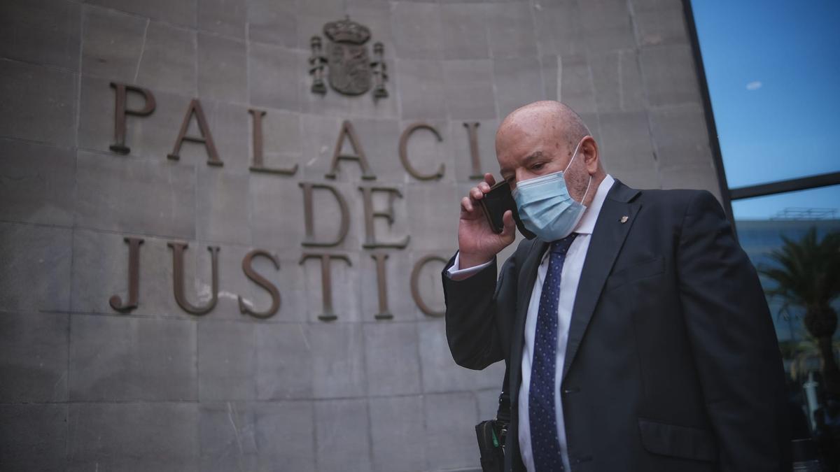 Miguel Concepción, ante el juzgado