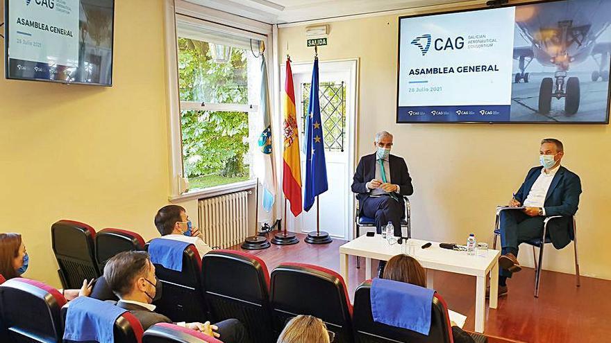 Xunta y el sector aeronáutico se unen para atraer inversiones