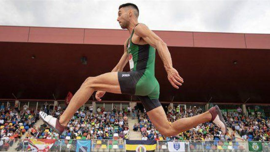 Pablo Torrijos, de Gaetà Huguet al récord de España de triple salto al aire libre