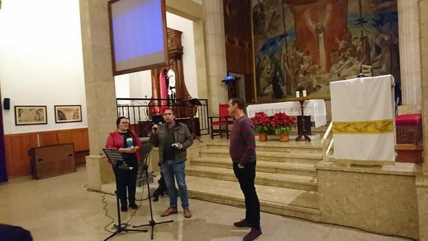 El pregón de la cantautora Vicky Armas arranca las fiestas de Tamaraceite