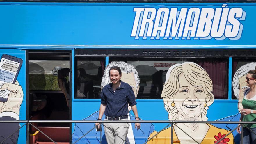 Díaz Ferrán se querella contra Iglesias por el 'tramabús'