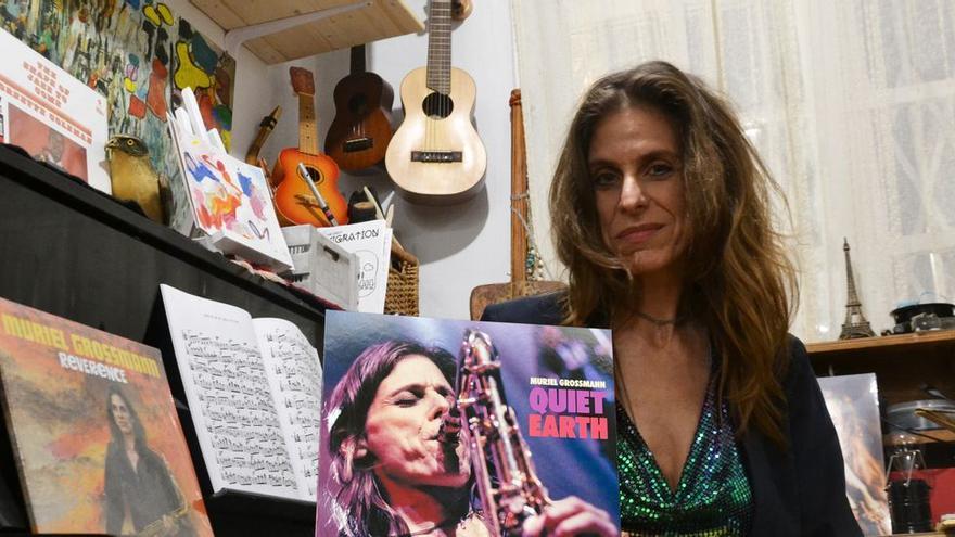 "Muriel Grossmann, saxofonista: ""Los músicos no podemos aguantar otra temporada como la de 2020"""
