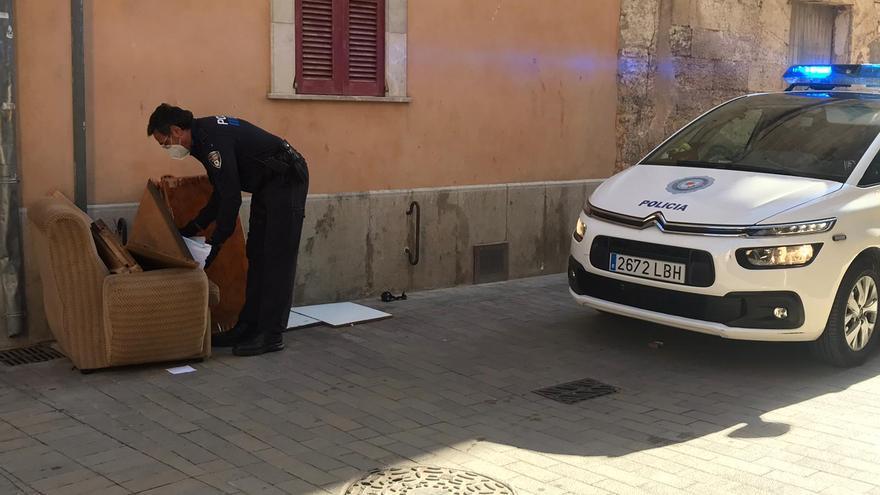 Manacor contempla sanciones de hasta 1.500 euros por dejar residuos voluminosos en la calle