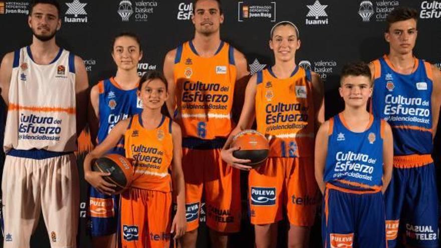 Valencia Basket presenta sus equipaciones más 'sonoras'