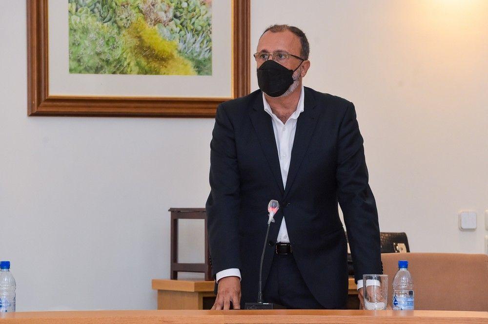 Francisco García, nuevo alcalde de Santa Lucía de Tirajana