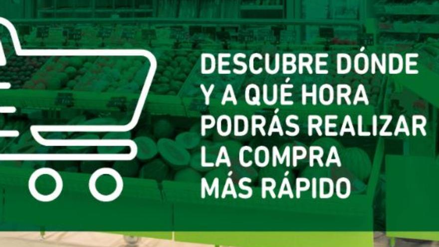 Descubre dónde y a qué hora hacer la compra más rápido en Hiperdino