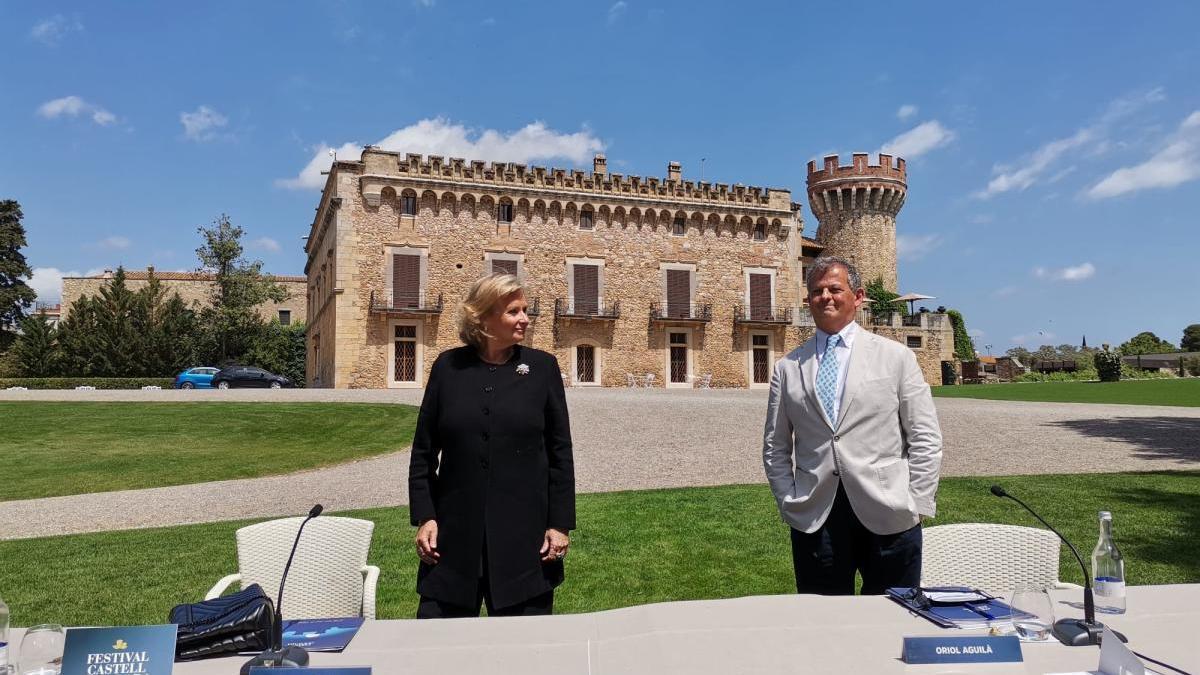 Isabel Suqué i Oriol Aguilà, a Peralada