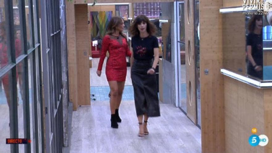 Paula Echevarría entra en la casa de 'Gran Hermano VIP'
