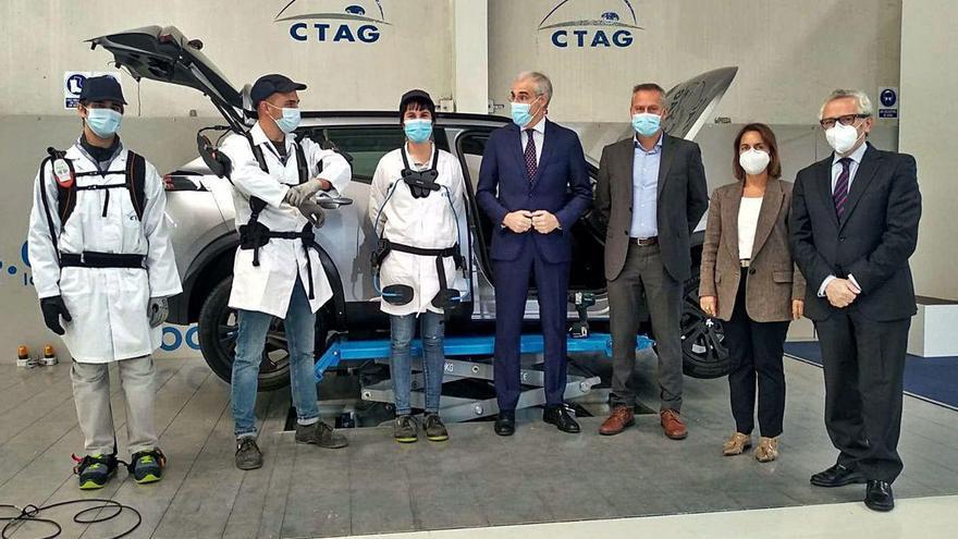 """El CTAG lidera las pruebas para la integración de exoesqueletos en la industria """"a medio-largo plazo"""""""