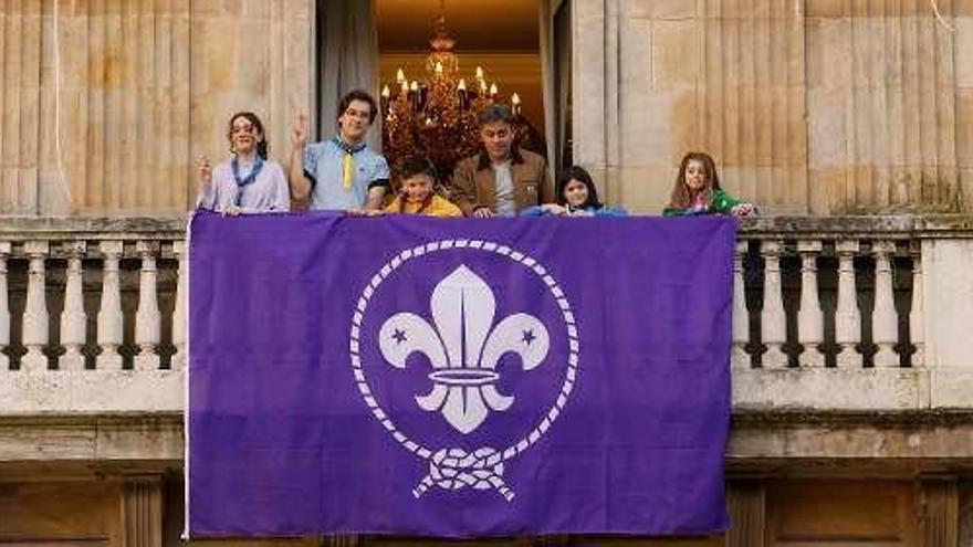 """Los Scouts """"toman"""" el Ayuntamiento"""