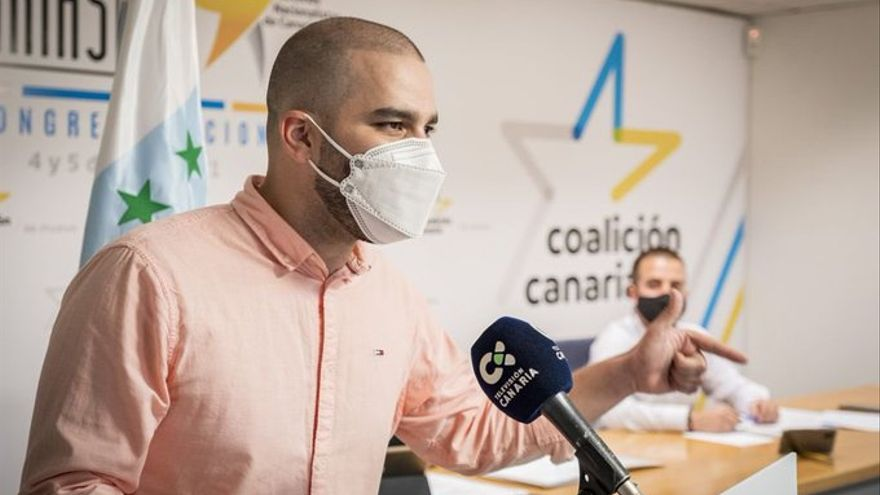 Jesús Machín, nuevo secretario general de Jóvenes Nacionalistas de Canarias