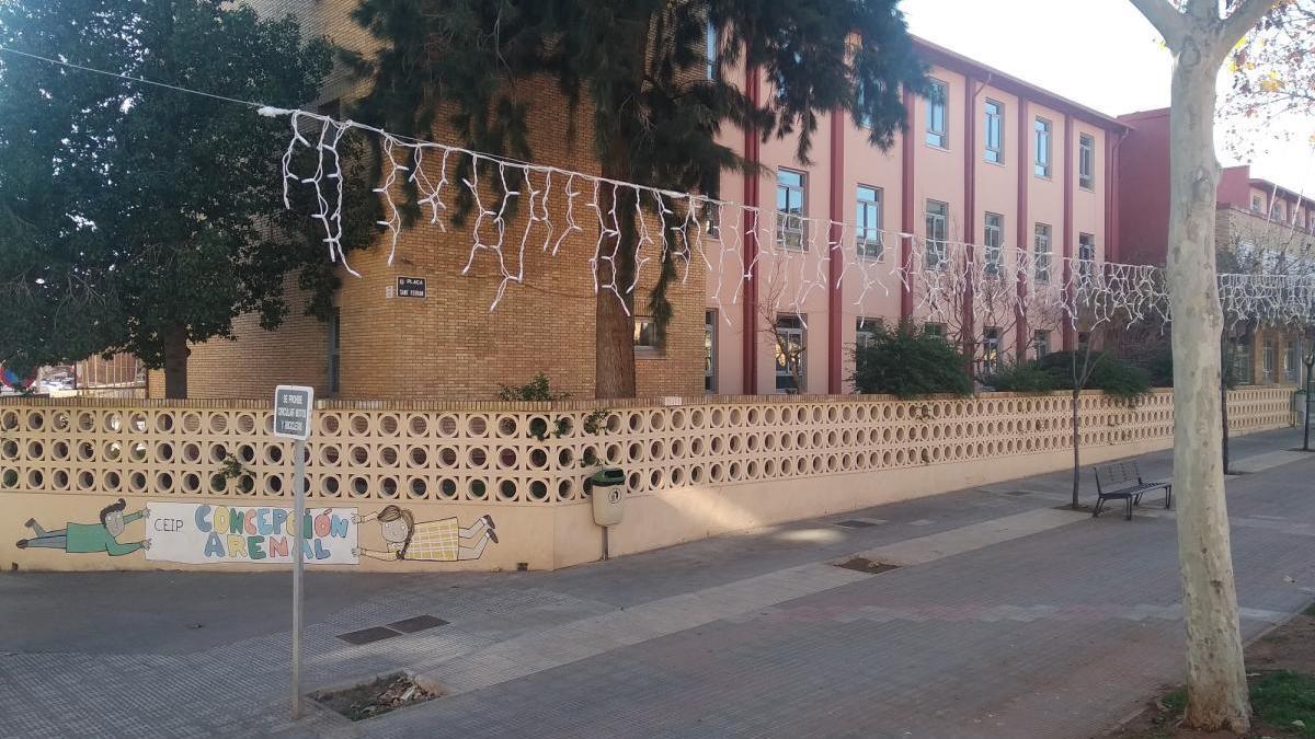 Vila-real eleva a 1,1 millones la reforma del colegio Concepción Arenal