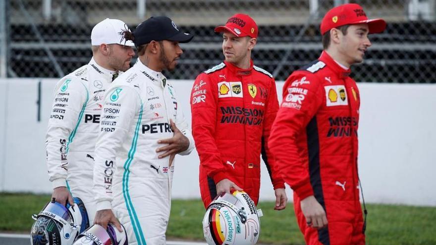 El Mundial de F1 arrenca al circuit de Montmeló amb els primers entrenaments