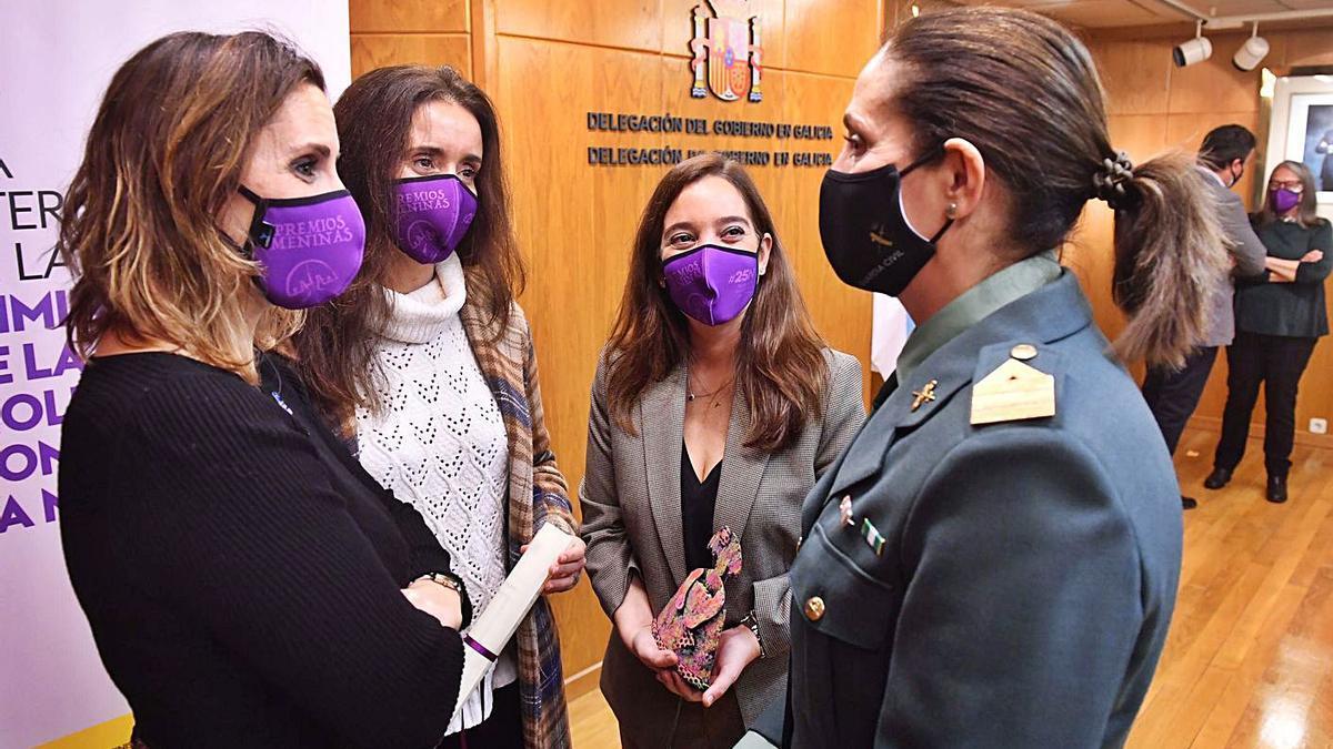 Premios a la lucha contra la violencia de género   VÍCTOR ECHAVE