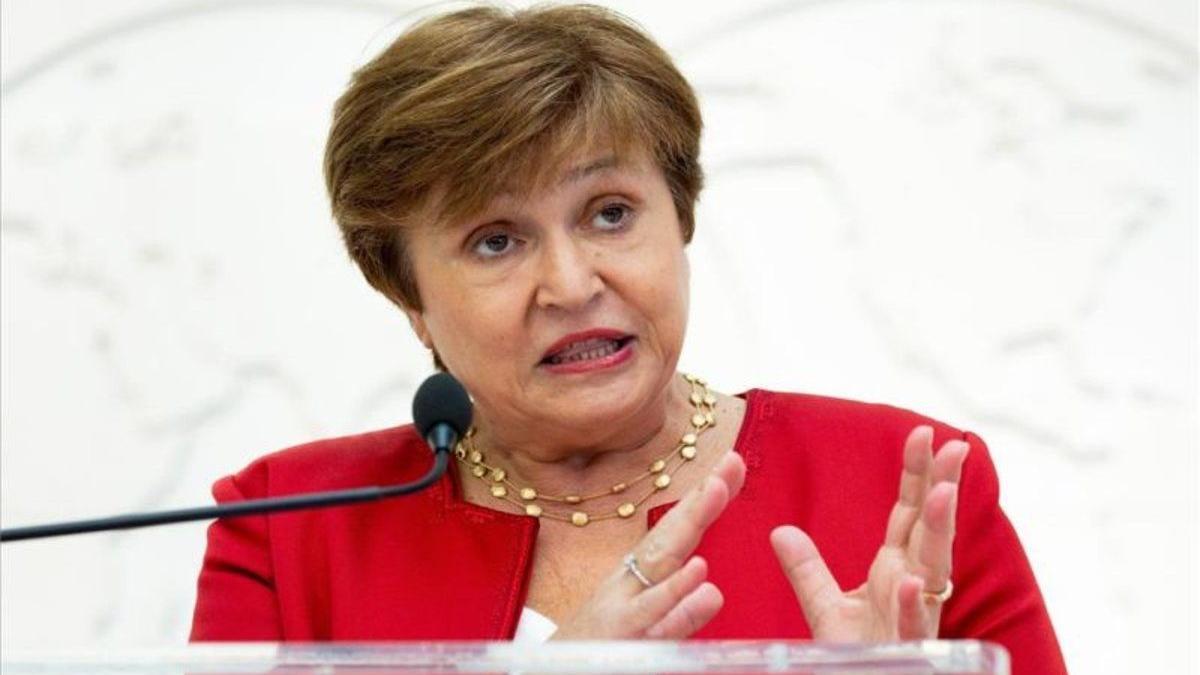 Kristalina Georgieva, la directora gerente del Fondo Monetario Internacional.