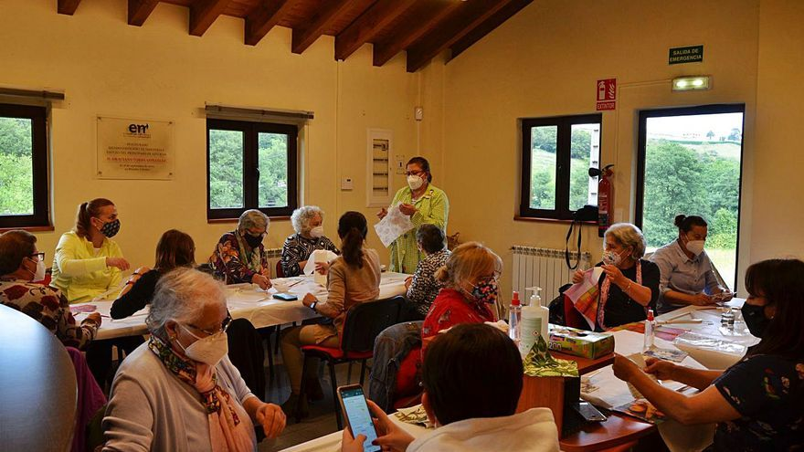 Mujeres Rurales de Carreño retoma las actividad con la vista en su 20.º aniversario