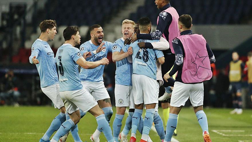 El Manchester City acaricia la final