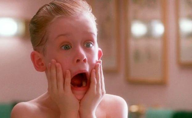 Macaulay Culkin en 'Solo en casa'(1990).