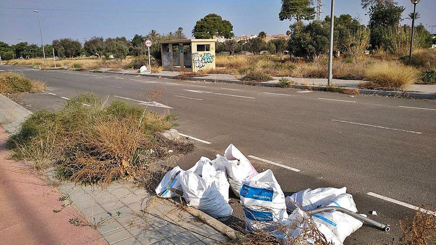 El recurso de una empresa paraliza la urbanización de Nou Nazareth de Sant Joan