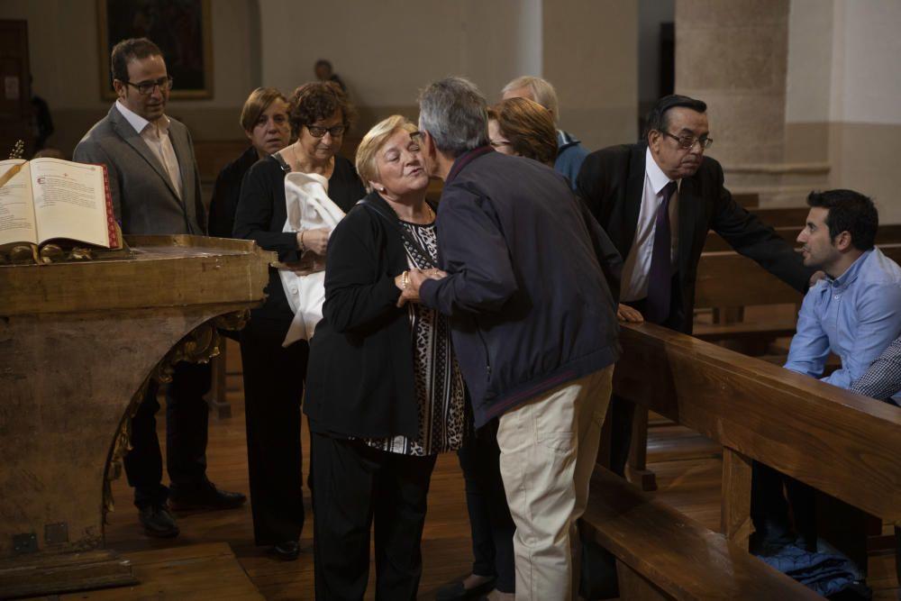 La capilla ardiente del Obispo de Zamora