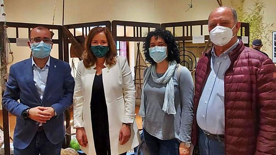 Cangas inaugura la feria Narcenatur, la primera del concejo en pandemia