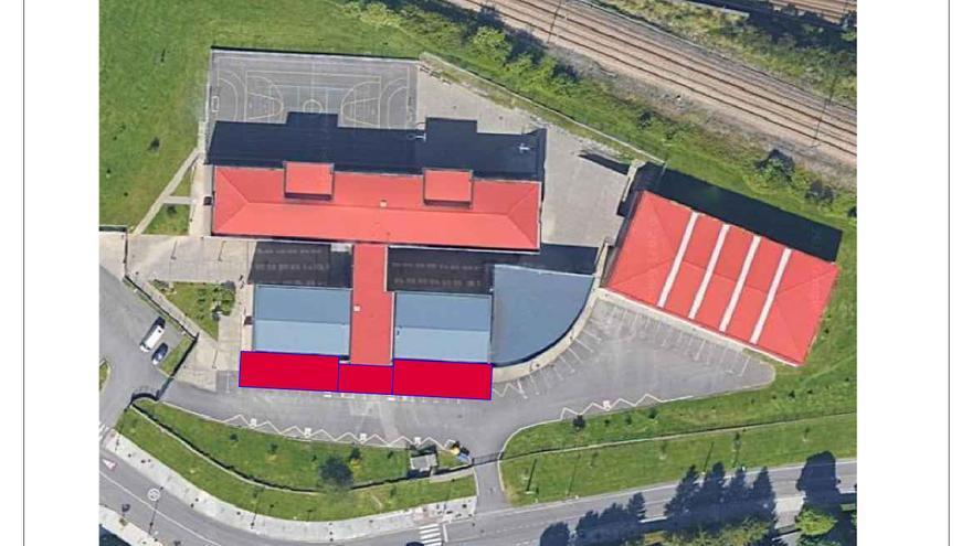 El Principado instalará siete barracones para paliar la masificación del instituto de La Corredoria