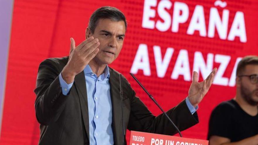"""Sánchez: existe un """"riesgo cierto"""" de ir a elecciones"""