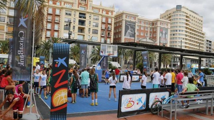 Málaga, tercera parada del Plaza 3x3 de CaixaBank