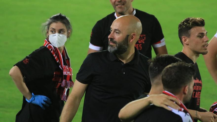 David Movilla tras el ascenso del Zamora.