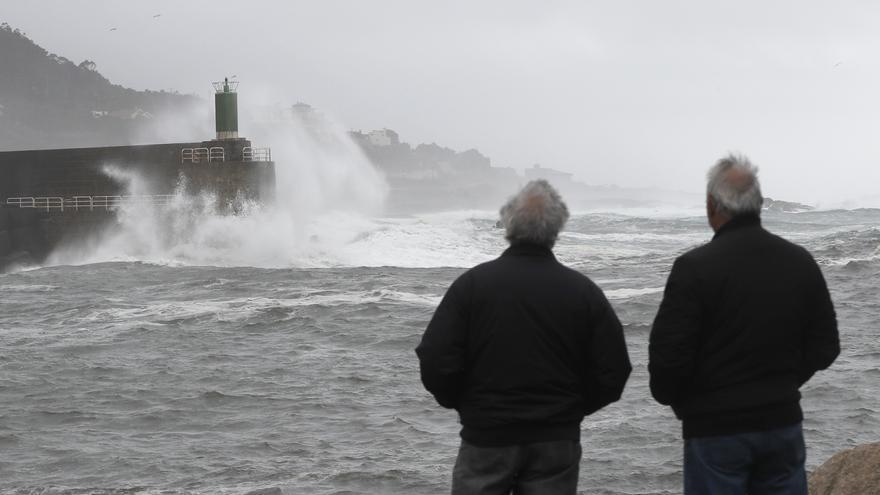 El temporal persiste y deja vientos de casi 200 km/h