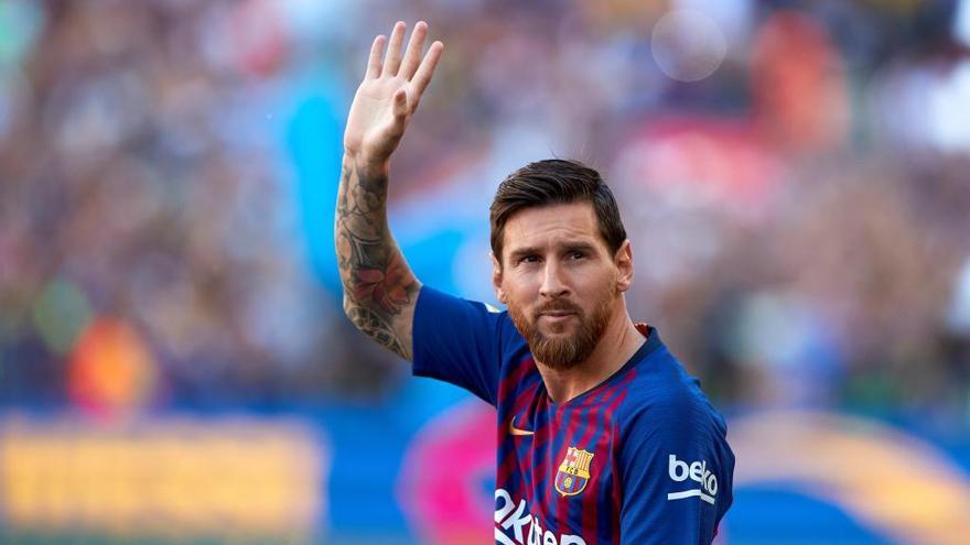 Messi ja exerceix de capità: «Ho farem tot perquè la Champions torni al Camp Nou»