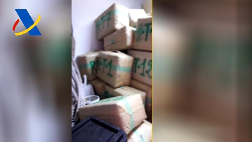 Un pesquero de San Pedro del Pinatar ocultaba hasta 4.360 kilos de hachís