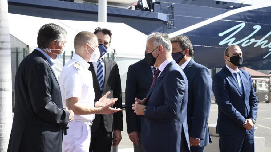 TUI reinicia en Canarias la temporada de cruceros en España