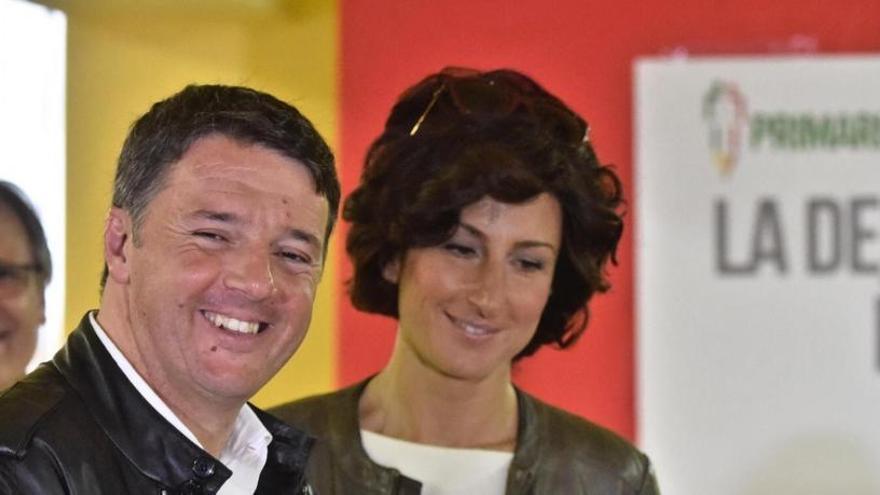 Renzi vence en las primarias del Partido Demócrata