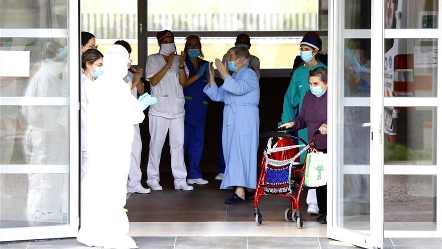 La letalidad del covid entre mayores se hunde en Aragón