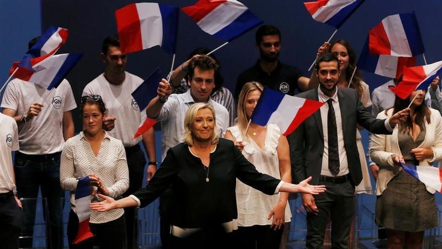 Le Pen sería la candidata más votada si se celebrasen presidenciales hoy en Francia