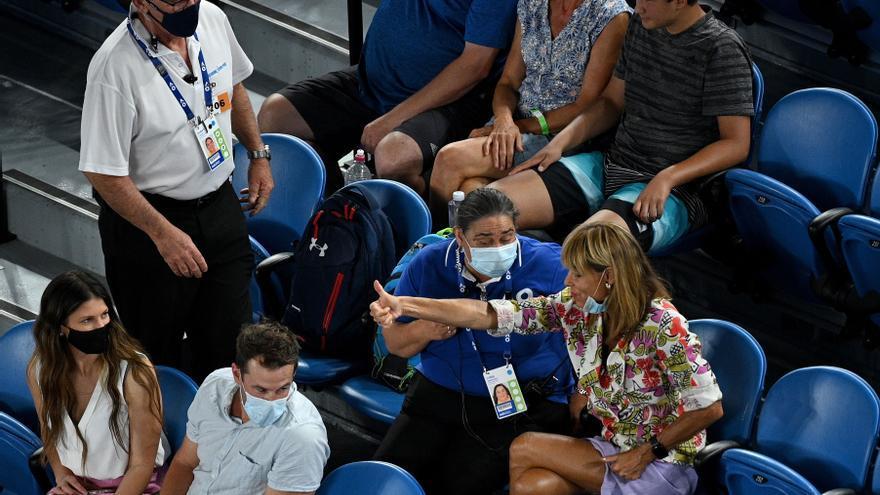 """Rafa Nadal: """"Sólo veía que me gritaba y que me levantaba el dedo"""""""