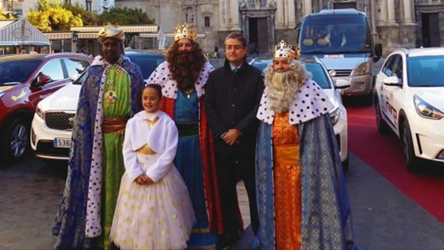 Los Reyes Magos eligen KIA